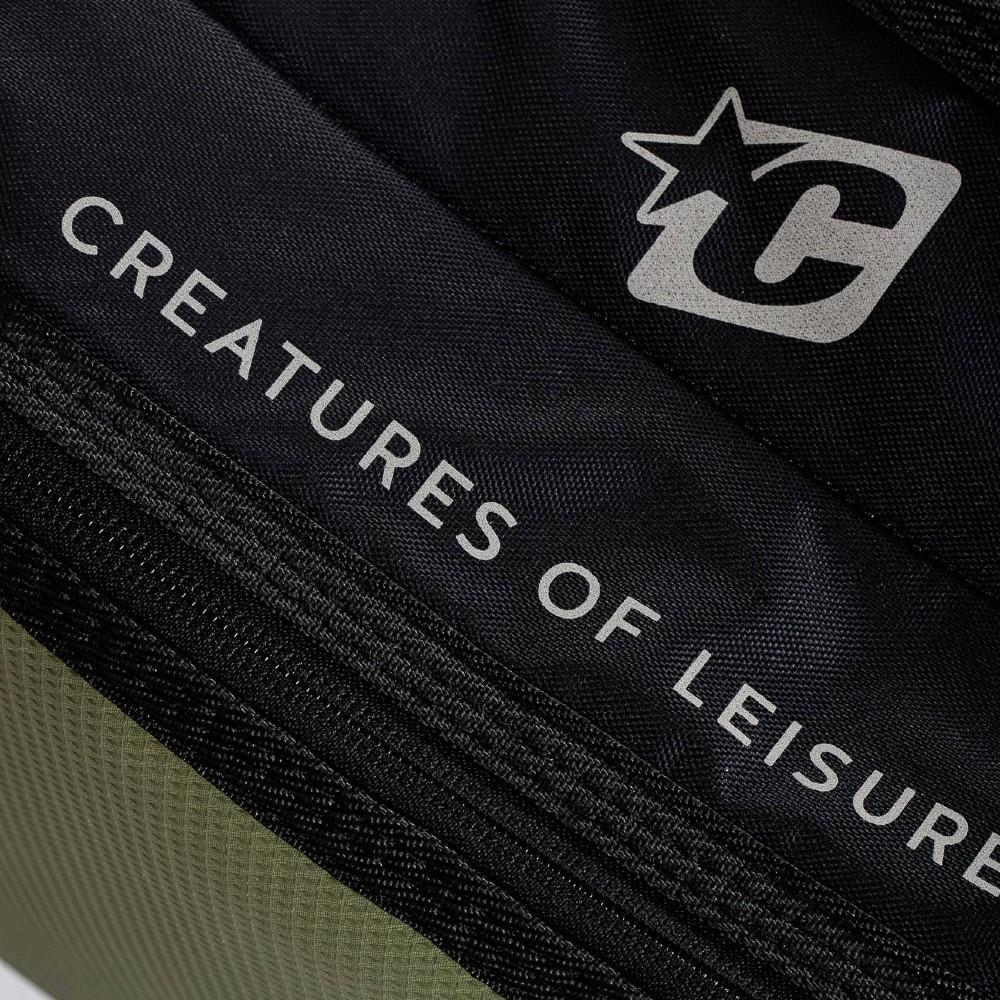 Creatures Of Leisure Fish Double DT2.0 Boardcover Military Black Boardbags Creatures Of Leisure