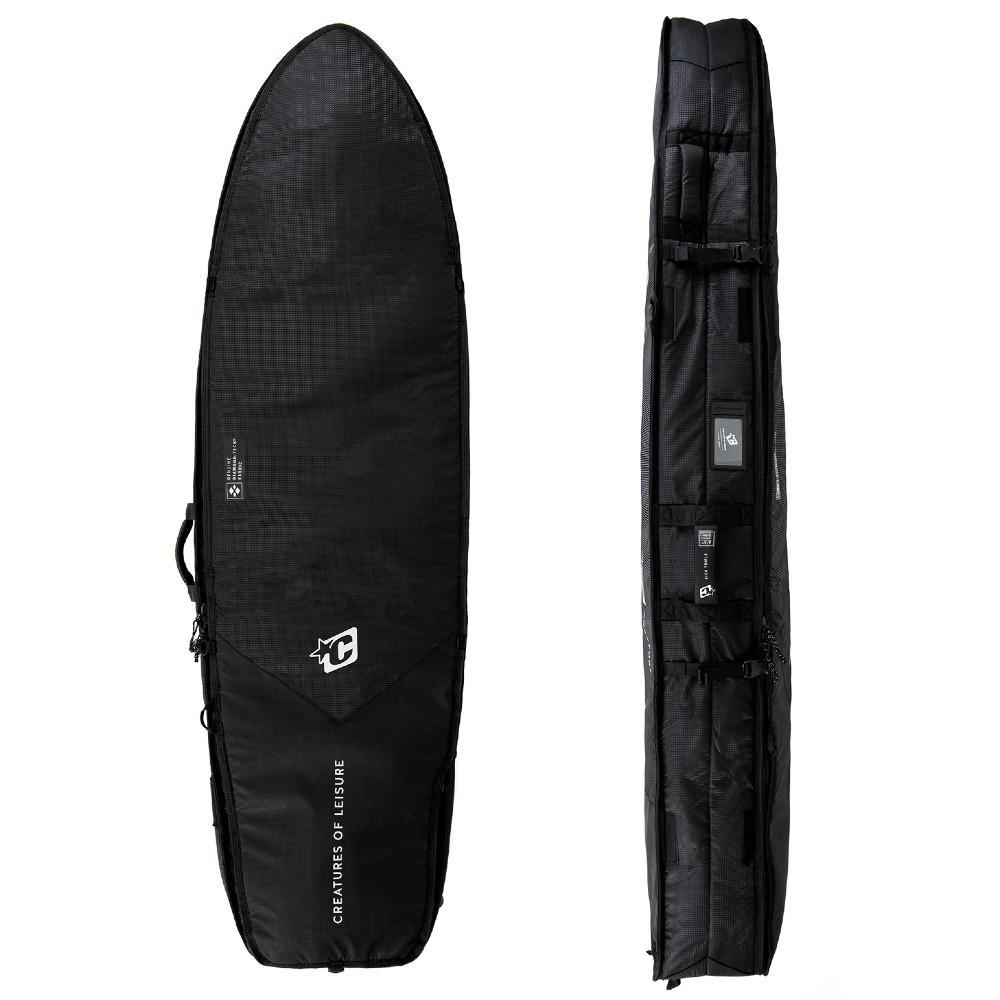 Creatures Of Leisure Fish Triple DT2.0 Black Silver Boardbags Creatures Of Leisure 6'3""