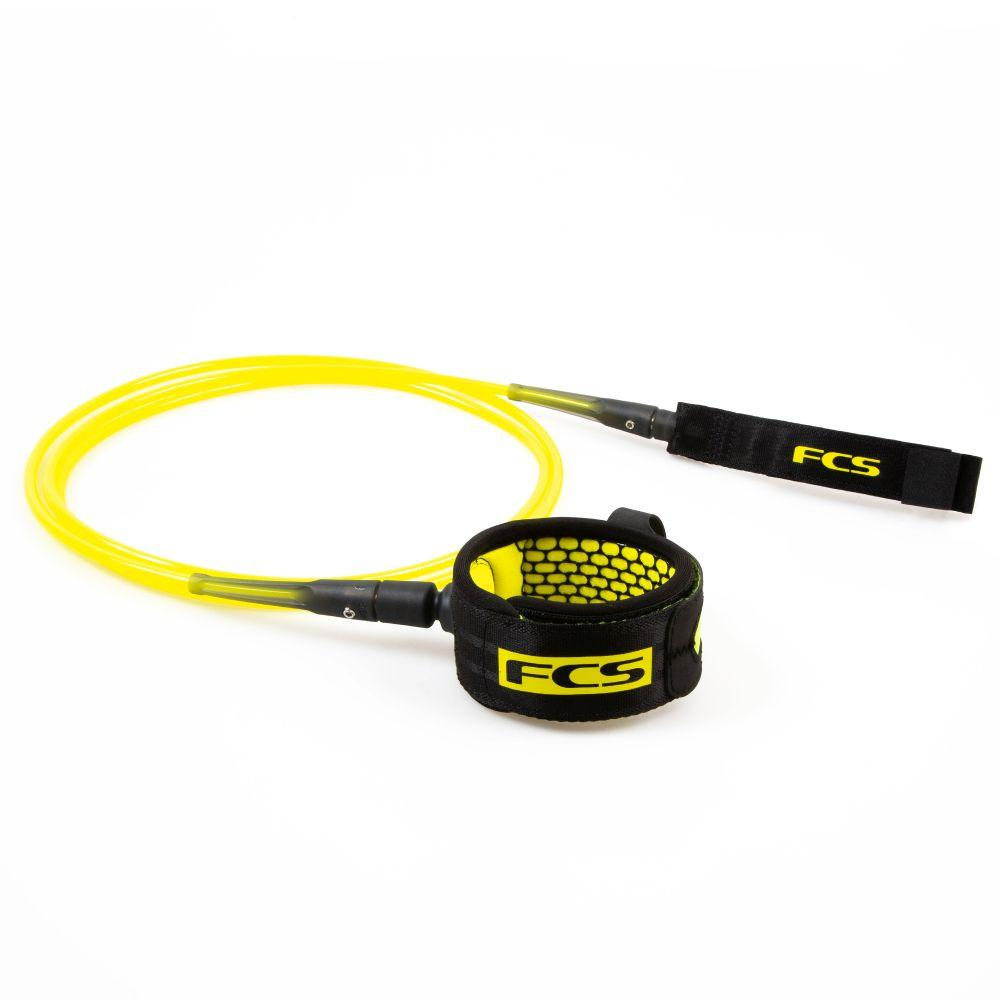 FCS 6' All Round Essential Leash Legropes & Leashes FCS Acid