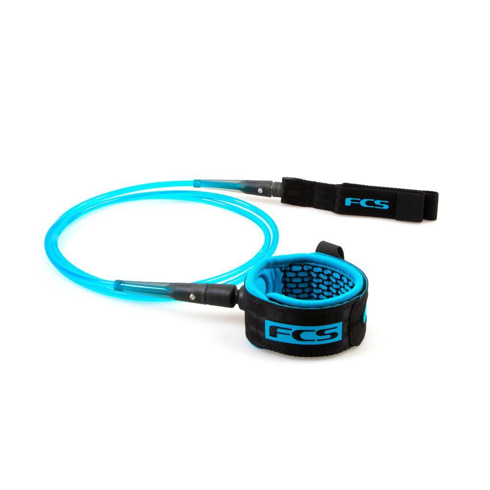 FCS 6' All Round Essential Leash Legropes & Leashes FCS Blue/Black