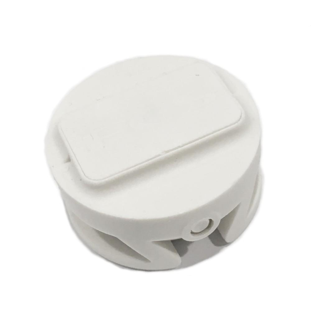 FCS Leash Plug 25mm White Fin Systems & Plugs FCS