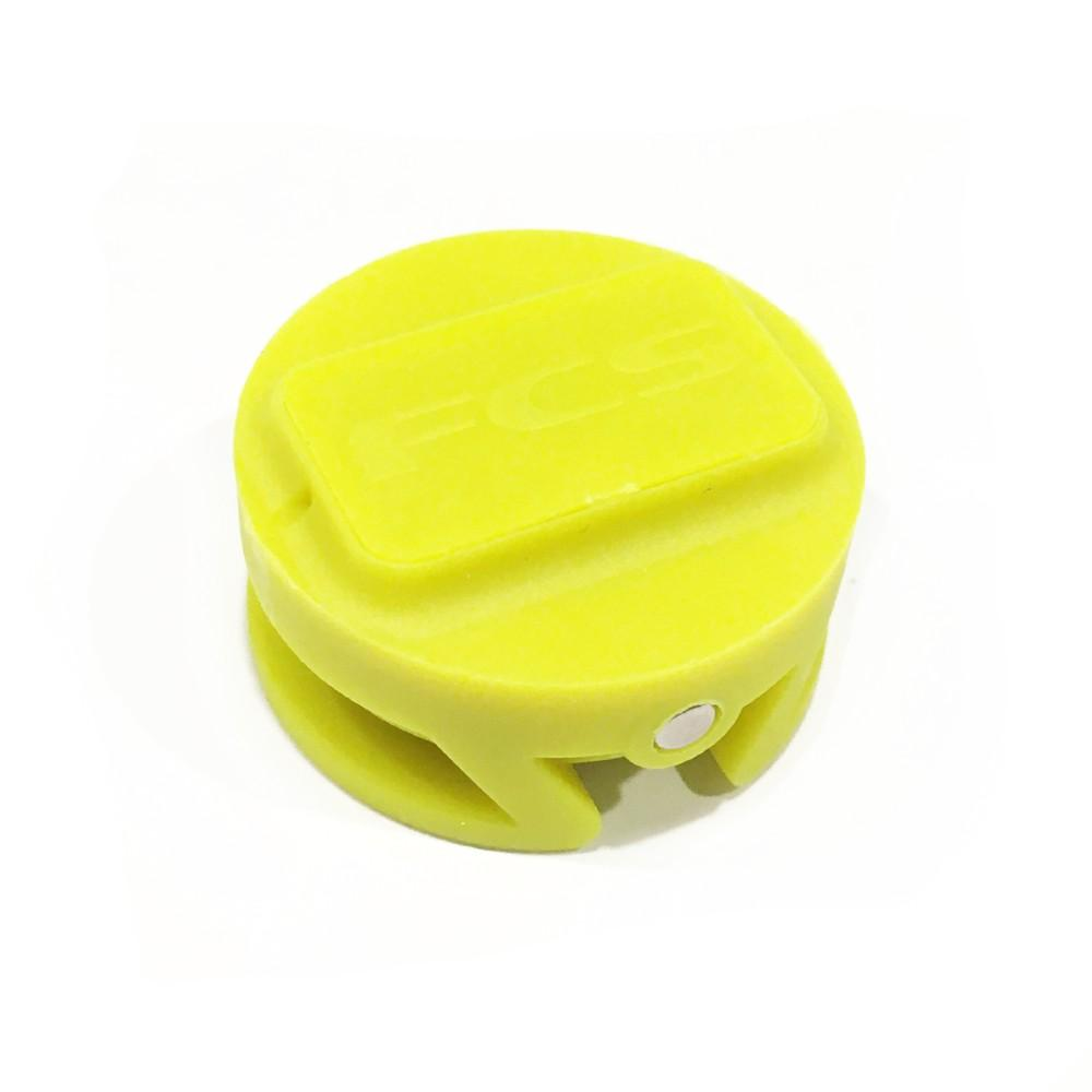 FCS Leash Plug 25mm Yellow Fin Systems & Plugs FCS