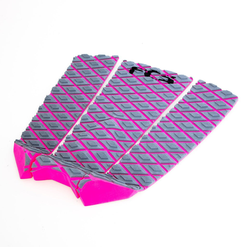 Fitzgibbons Grey/Bright Pink Tailpads FCS