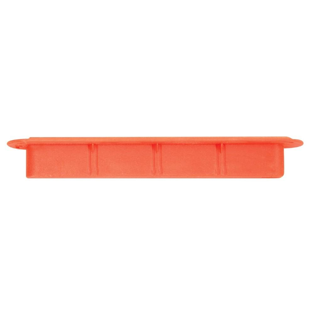 "Futures Orange Fin Box 3/4"" (Side) Fin Systems & Plugs Futures"