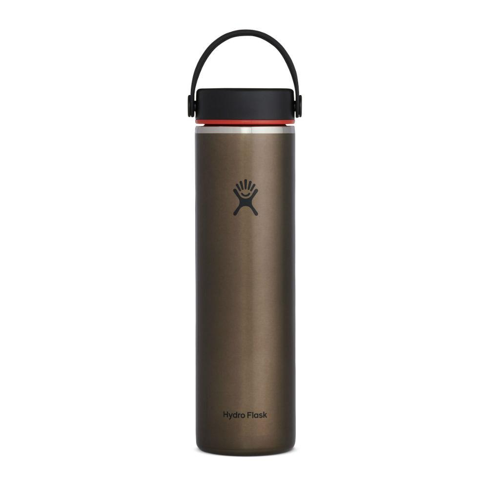 Hydro Flask 24 oz Lightweight Wide Mouth Trail Series Cups & Flasks Hydro Flask Obsidian
