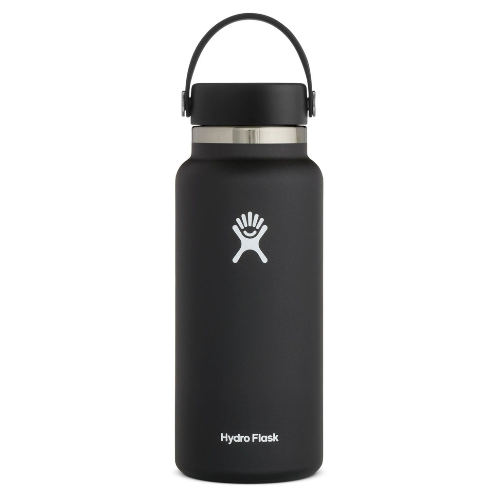 Hydro Flask Wide Mouth 2.0 32 oz (946ml) Cups & Flasks Hydro Flask Black