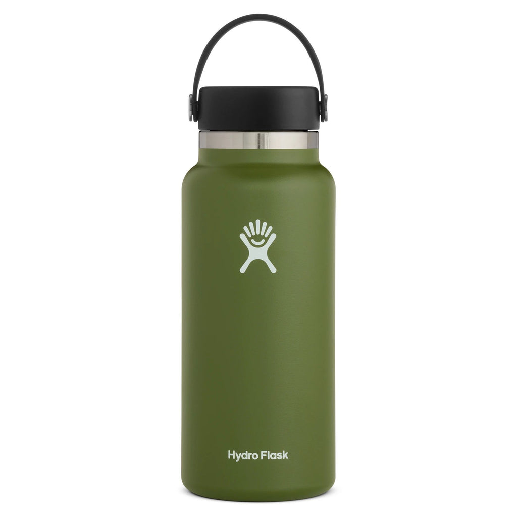 Hydro Flask Wide Mouth 2.0 32 oz (946ml) Cups & Flasks Hydro Flask Olive