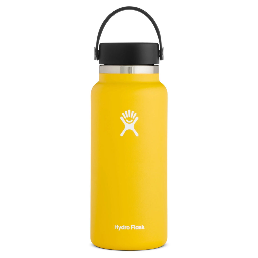 Hydro Flask Wide Mouth 2.0 32 oz (946ml) Cups & Flasks Hydro Flask Sunflower