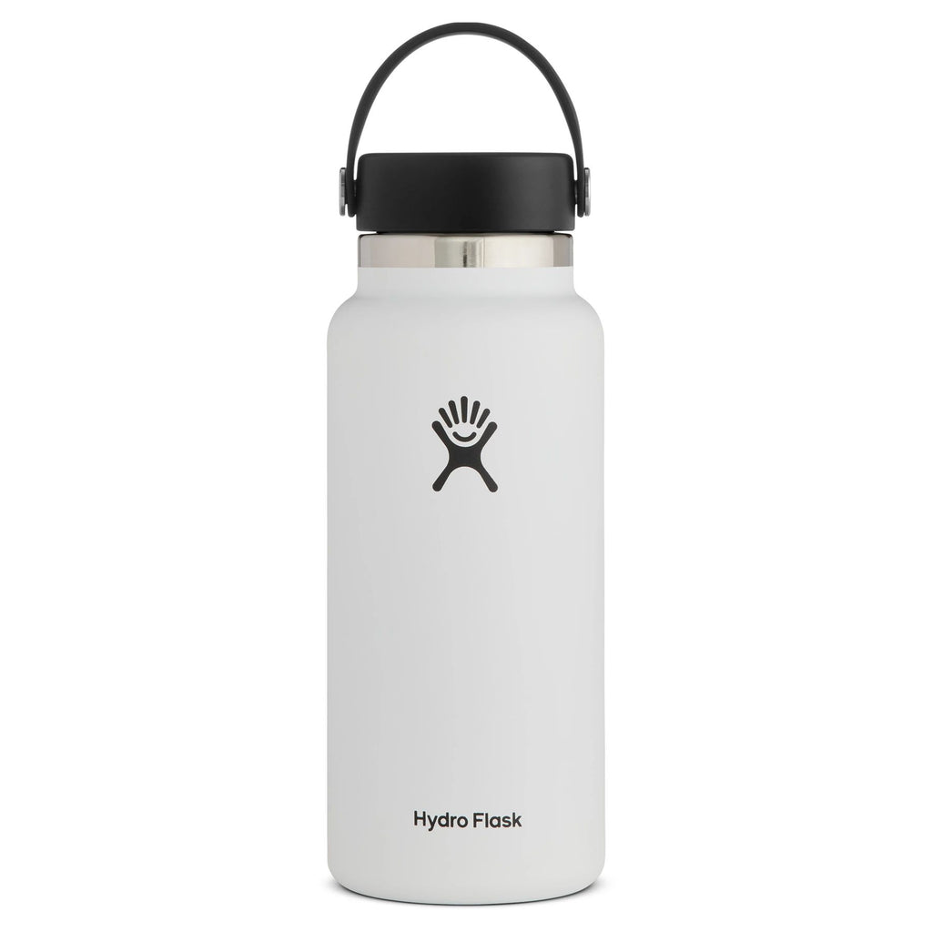 Hydro Flask Wide Mouth 2.0 32 oz (946ml) Cups & Flasks Hydro Flask White