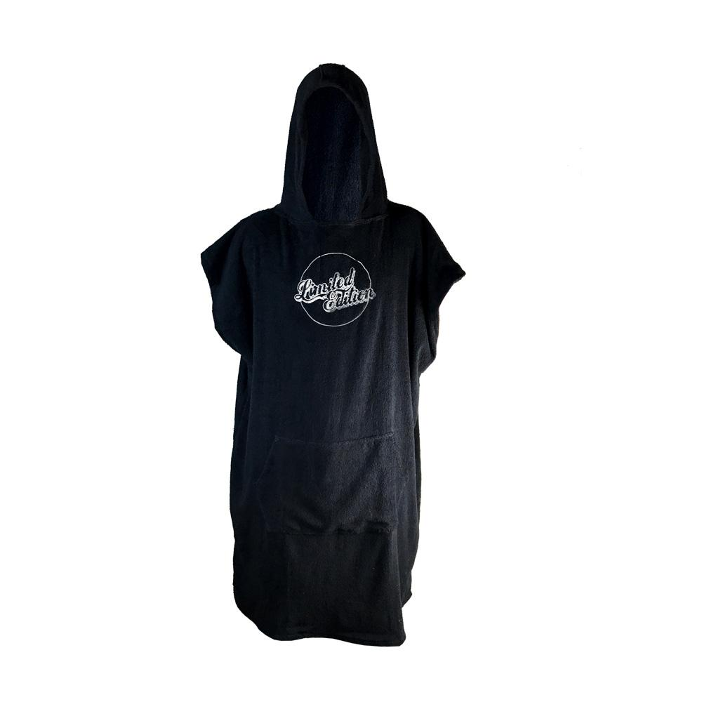 Limited Edition Poncho Towel Wetsuit & Water Apparel Accessories Limited Edition Black / White