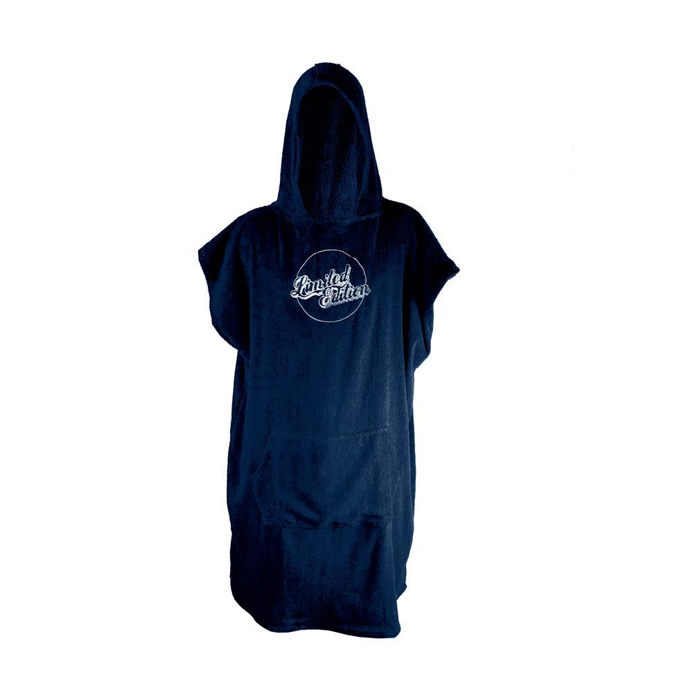 Limited Edition Poncho Towel Wetsuit & Water Apparel Accessories Limited Edition Midnight Blue / White