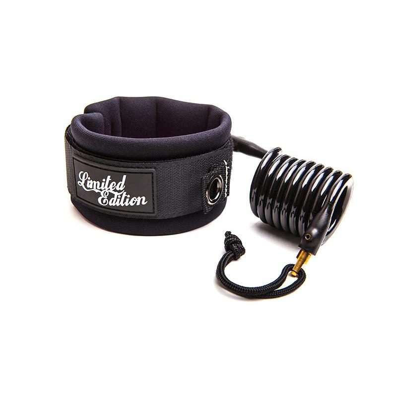 Limited Edition Sylock Bicep Bodyboard Leash Bodyboards & Accessories Limited Edition M Black