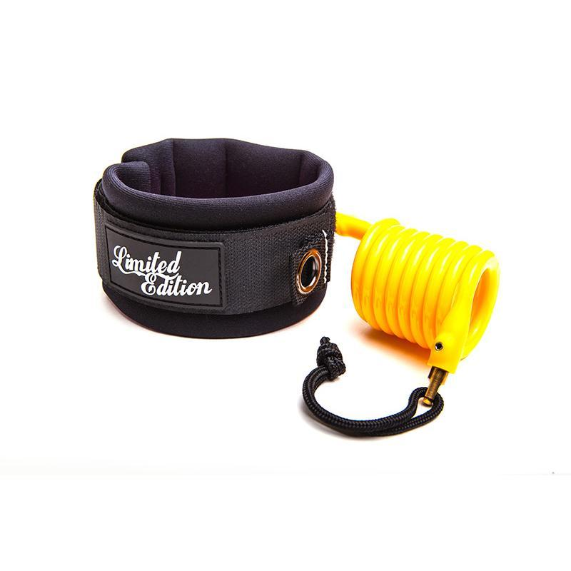 Limited Edition Sylock Bicep Bodyboard Leash Bodyboards & Accessories Limited Edition M Yellow