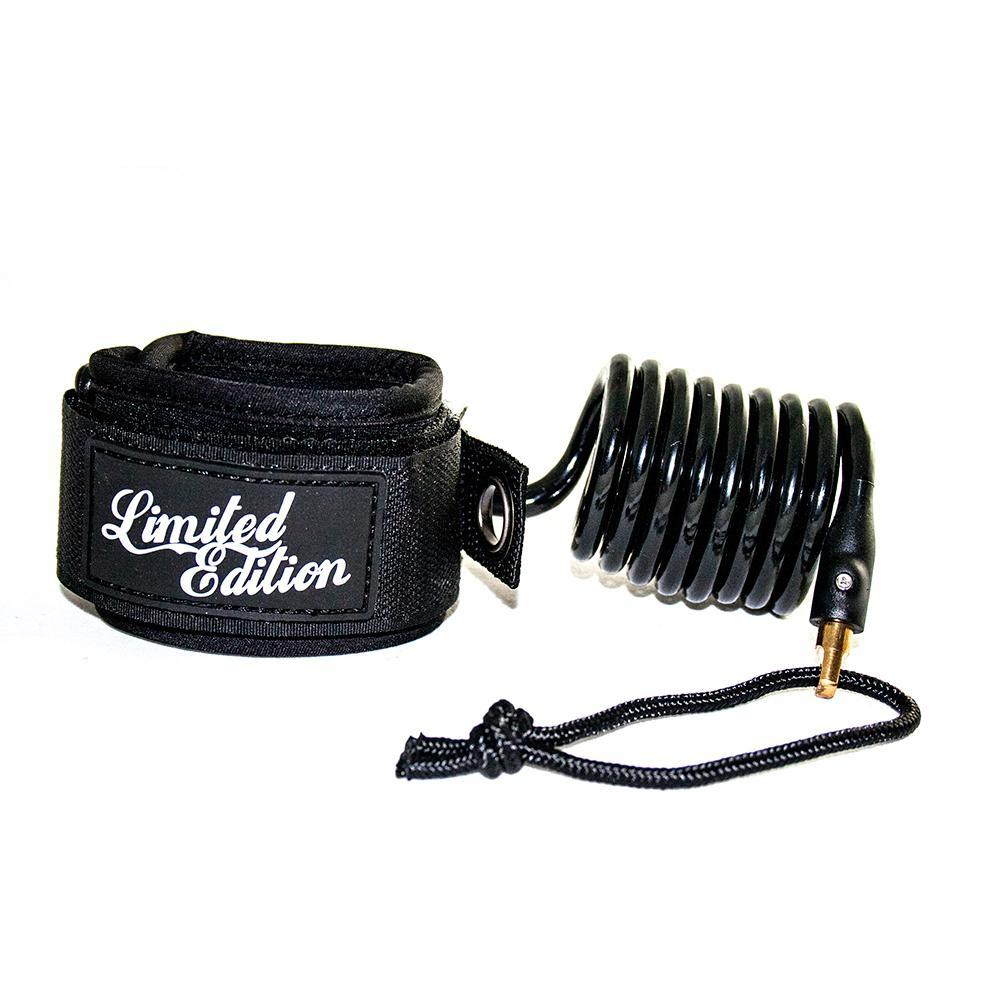 Limited Edition Sylock Wrist Bodyboard Leash Bodyboards & Accessories Limited Edition Black