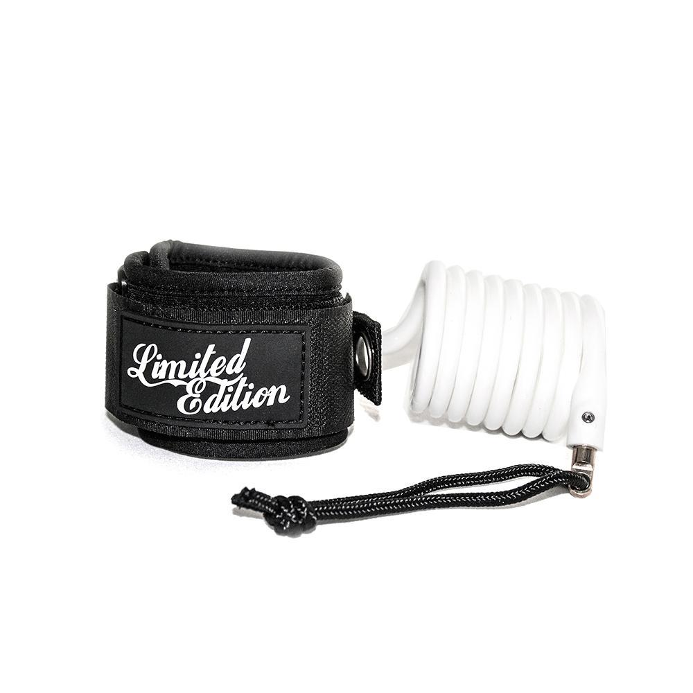 Limited Edition Sylock Wrist Bodyboard Leash Bodyboards & Accessories Limited Edition White