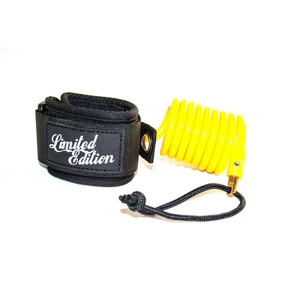 Limited Edition Sylock Wrist Bodyboard Leash Bodyboards & Accessories Limited Edition Yellow