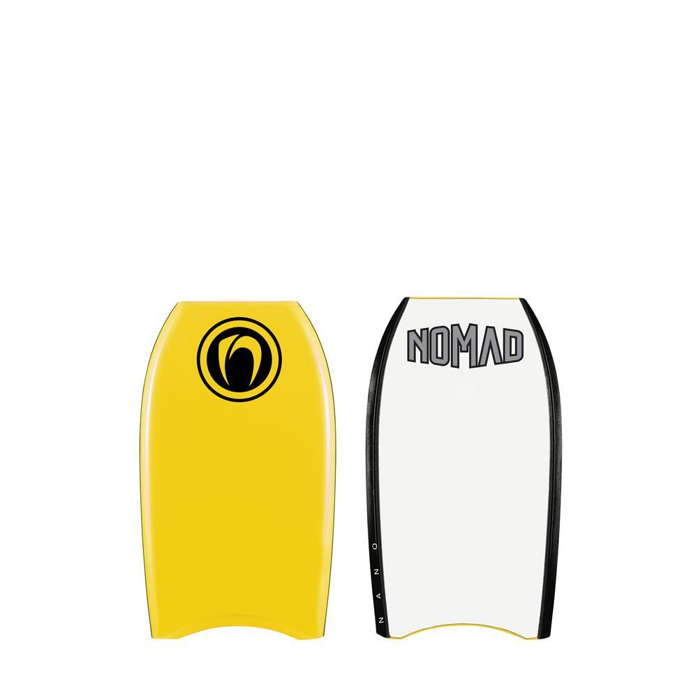 "Nomad Nano 21"" Bodyboards & Accessories Nomad Yellow Deck / White Bottom"