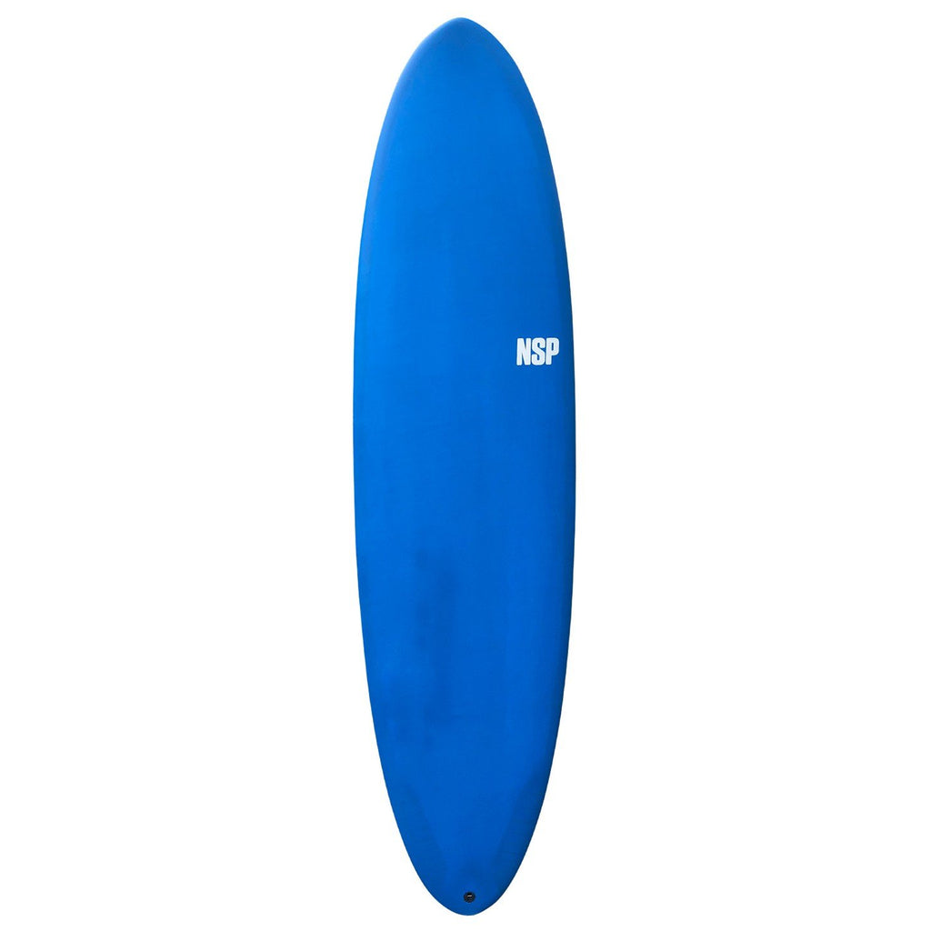 "NSP Protech Fun Surfboards NSP 6'8"" x 21"" x 2 5/8"" 42.1L Futures Navy Tint"