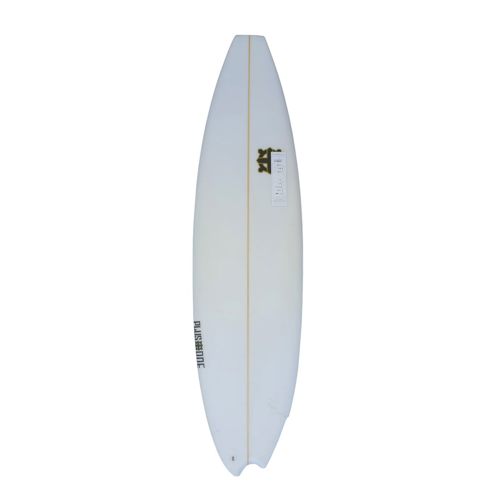 "Plus One Asymmetrical Surfboards Plus One 5'10""/5'8"" x 18 7/8"" x 2 1/4"" Futures"