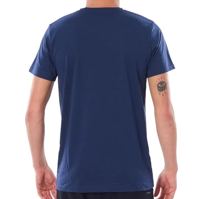 Rip Curl Searchers S/SL UV Tee Navy Mens Wetsuits Rip Curl