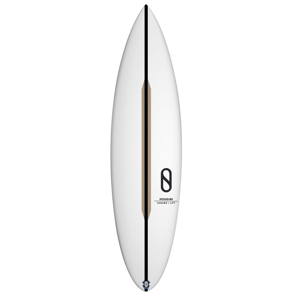 "Slater Designs Houdini LFT Surfboards Slater Designs 5'11"" x 18 1/2"" x 2 3/8"" Futures"