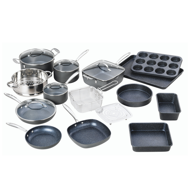 20 PC Kitchen in A Box PRO- Hard Anodized