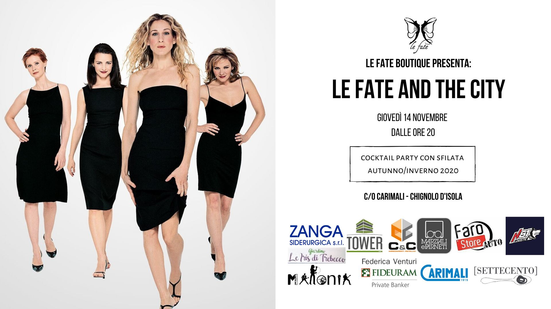 Le fate and the city sfilata novembre
