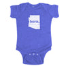 born. Baby Bodysuit - Arizona