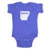 born. Baby Bodysuit - Arkansas