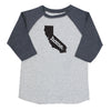 home. Youth/Toddler Raglans - California