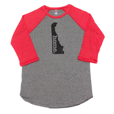 home. Men's Unisex Raglan - Delaware