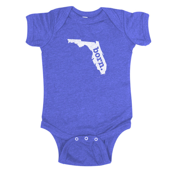 born. Baby Bodysuit - Florida