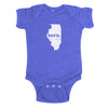 born. Baby Bodysuit - Illinois