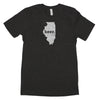 beer. Men's Unisex T-Shirt - Illinois