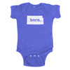 born. Baby Bodysuit - Kansas