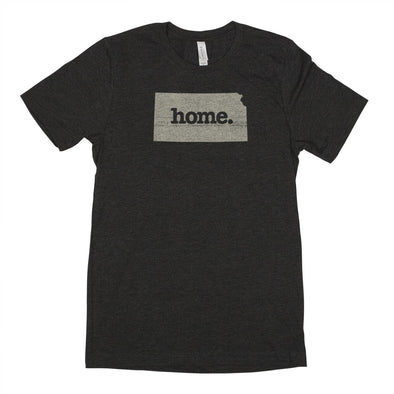 home. Men's Unisex T-Shirt - Kansas