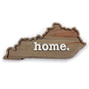 home. Wooden Plaques - Kentucky