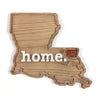 home. Wooden Plaques - Louisiana