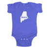 born. Baby Bodysuit - Maine