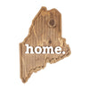 home. Wooden Plaques - Maine