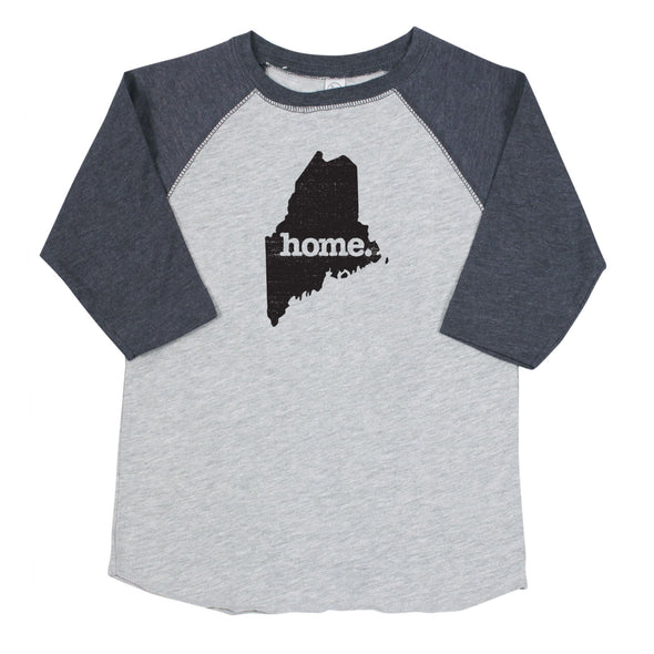 home. Youth/Toddler Raglans - Maine