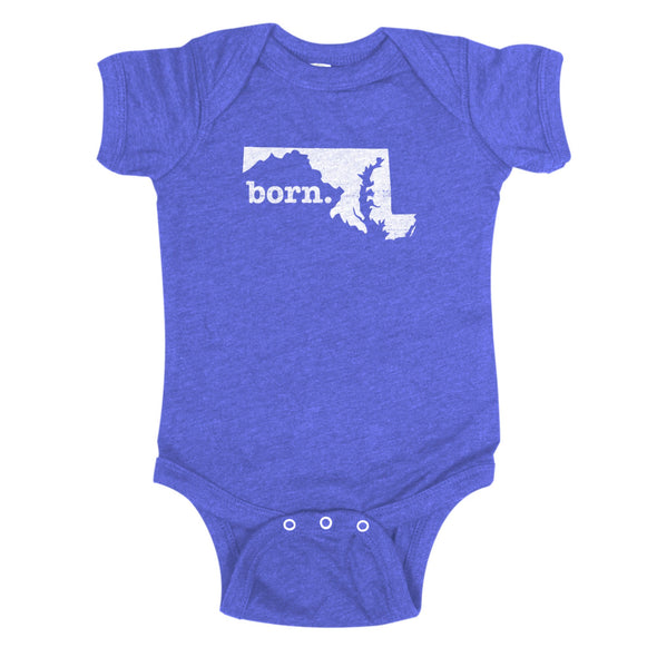 born. Baby Bodysuit - Maryland