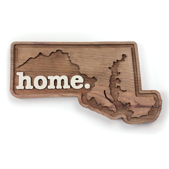 home. Wooden Plaques - Maryland