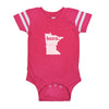 born. Football Baby Bodysuit - Minnesota