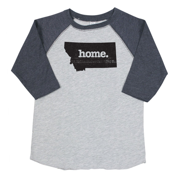 home. Youth/Toddler Raglans - Montana