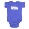 born. Baby Bodysuit - Nebraska