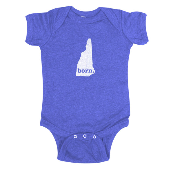 born. Baby Bodysuit - New Hampshire