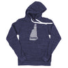 home. Men's Unisex Hoodie - New Hampshire - Ready to Ship