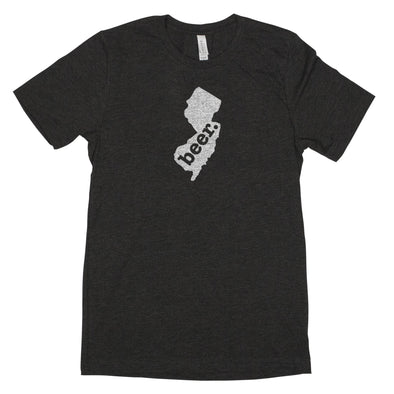 beer. Men's Unisex T-Shirt - New Jersey