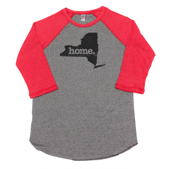 home. Men's Unisex Raglan - New York